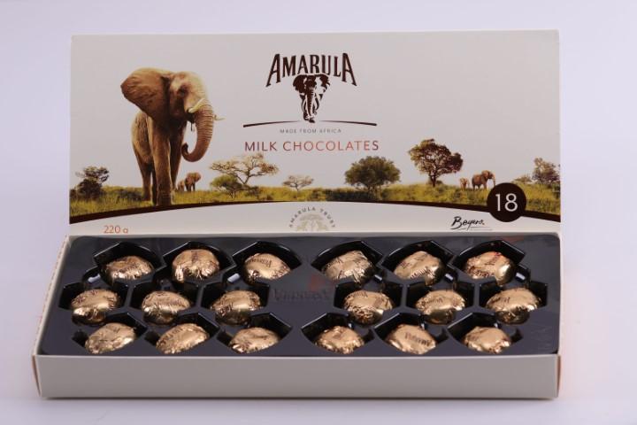 18 Piece Amarula Milk Chocolate 220G image