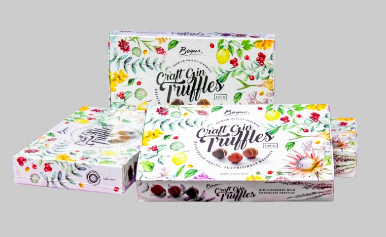 Gift Boxes - Craft Gin Truffles 120G thumb