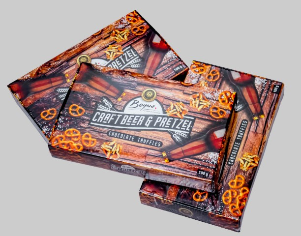 Gift Boxes - Craft Beer & Pretzel Truffles 100G thumb