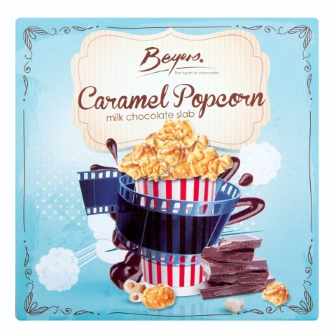 Slab- Caramel Popcorn 80G