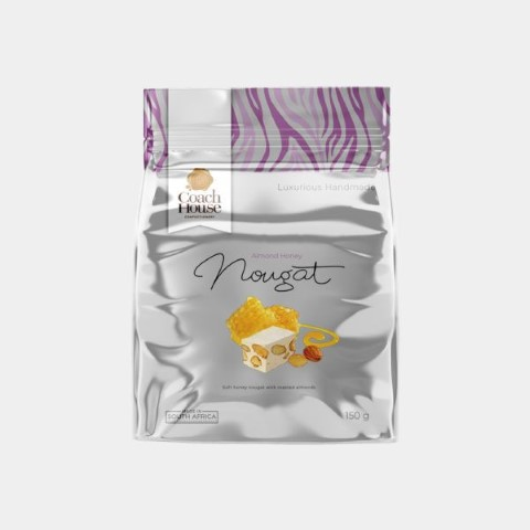 Almond Honey Nougat Pouch 150G image