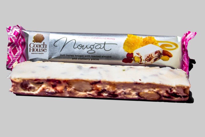 Cranberry And Almond Honey Nougat Bar 50G image