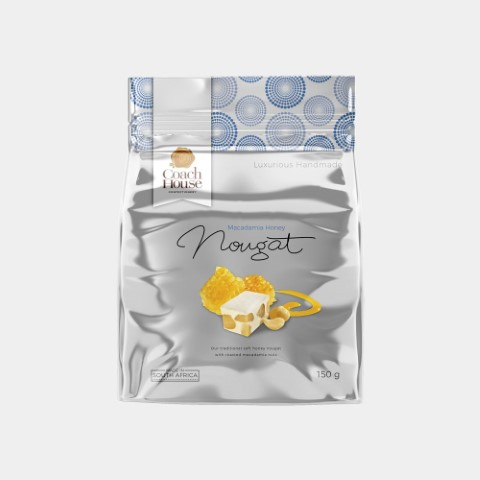 Macadamia Honey Nougat Pouch 150G