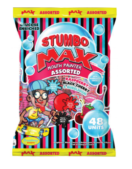 Stumbo Max Mouth Painter Assorted 1Kg