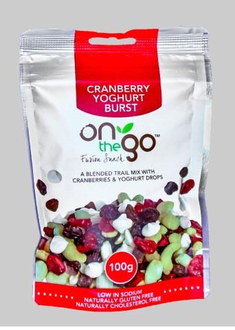 Cranberry Yoghurt 100G image