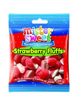 Strawberry Fluffs  125G