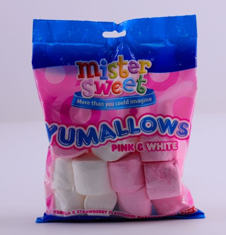 Pink&white Yumallows 150G