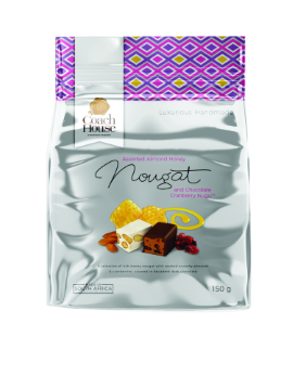 Assorted Almond Honey Nougat And Chocolate Cranberry Nugu Pouch 150G image