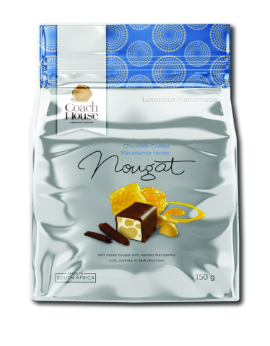 Chocolate Coated Macadamia Honey Nougat 150G image