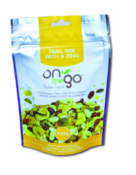 Trail Mix With A Zing 100G