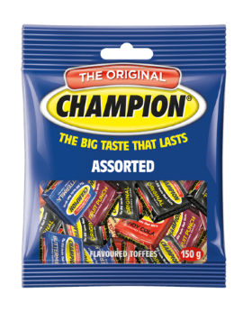 The Assorted Flavoured Toffee 150G
