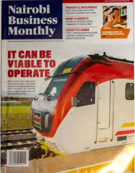 Nairobi Business Monthly Vol. 9 Issue No.6 November 2019