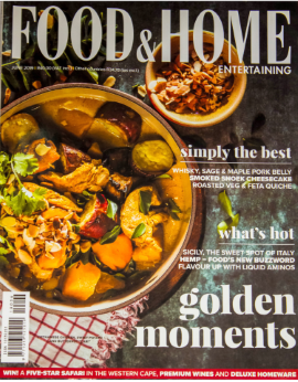 Food&home Entertaining SA June 2019