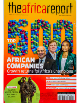 The Africa Report No. 108 July - August - September 2019