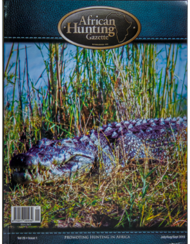 African Hunting Gazette Vol 25 Issue 1 July/aug/sept 2019