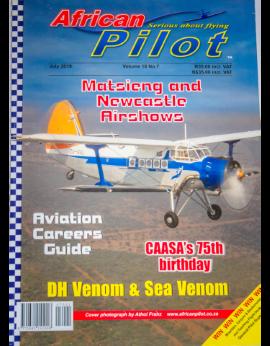 African Pilot July 2019 Vol. 18 No. 7