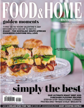 Food&home Entertaining SA February 2020
