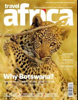 Travel Africa            Edition 87 July - September 2019 image