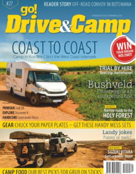 Go! Drive&camp October 2019 Issue 27