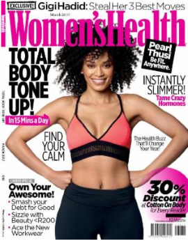 Womens Health SA March 2017