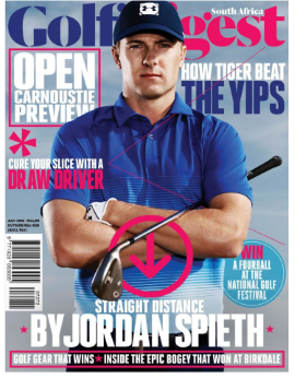 Golf Digest SA July 2018