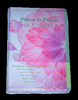 Niv Luxury Praise & Prayer Journal Bible SA