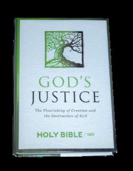 Niv Gods Justice Bible SA
