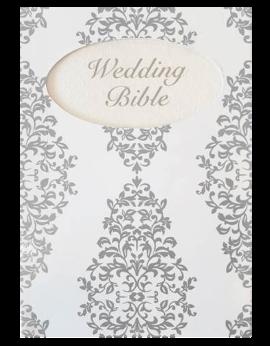 Wedding Bible Silver SA