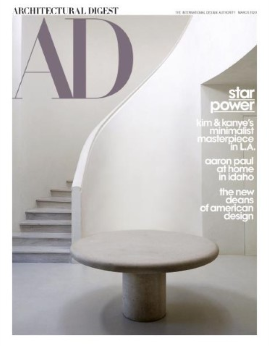 Architectural Digest, March 2020