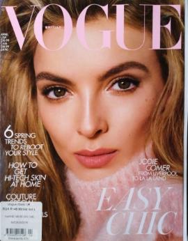 Vogue UK, April 2020 image