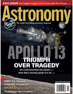 Astronomy, April 2020