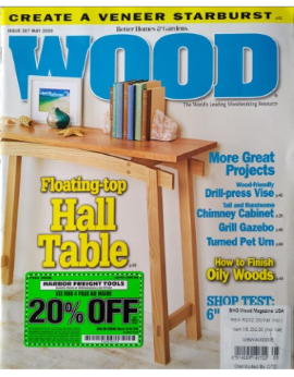 Wood, May 2020 Issue 267 image