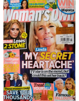 Woman's Own UK, July 15 2019 image