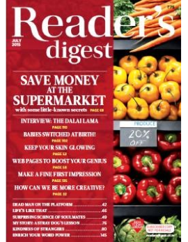 Reader's Digest, July 2015