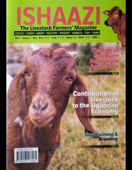 Ishaazi Livestock Farmers, October-December 2018, Vol.1 Issue 3