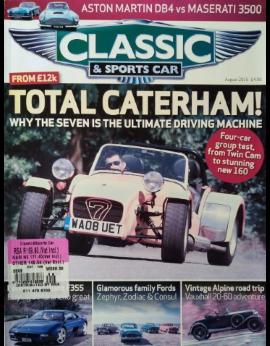 Classic & Sports Car, August 2016