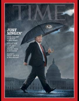 Time, April 2018