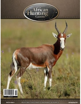 African Hunting, July/August/September 2017 Issue 1 Vol.23