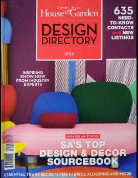 House&Garden, Design Directory 2019