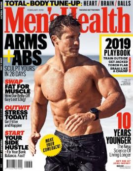 Men's Health SA, February 2019 image