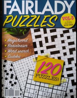 Fair Lady Puzzles, Vol.3 2019/2020 image