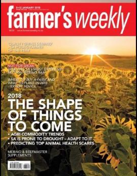 Farmers Weekly, 5+12 January 2018