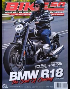 Bike SA, November 2020