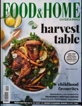 Food&Home Entertaining SA September 2018