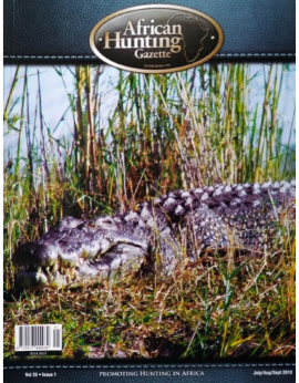 African Hunting Gazette, July/Aug/Sept 2019 Vol 25 Issue 1 image