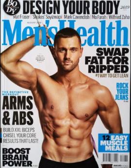 Men's Health SA, August 2019 image
