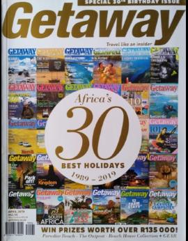 Getaway, April 2019 Vol. 31 No. 1 Special 30Th Birthday Issue image