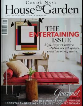 House & Garden SA, November 2019 image