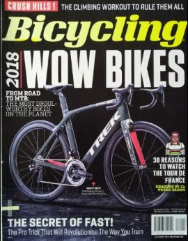 Bicycling SA, July/August 2018 image