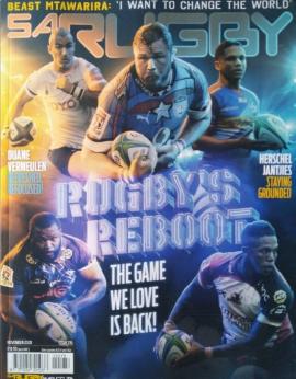 SA Rugby, November 2020 image